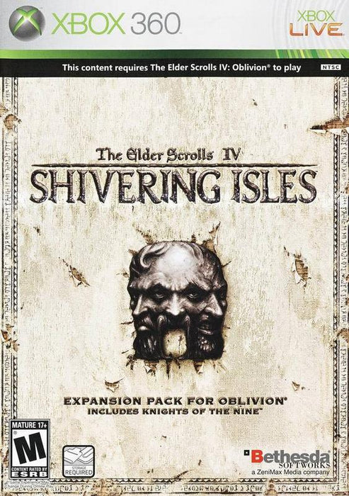 The Elder Scrolls IV Shivering Isles - Xbox 360
