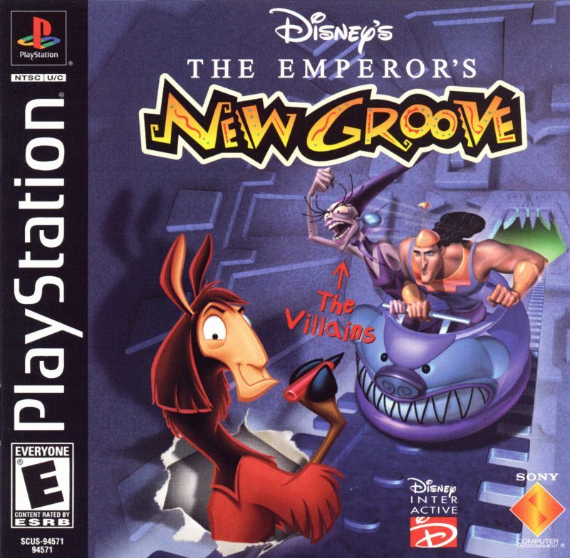 The Emperors New Groove - PlayStation 1
