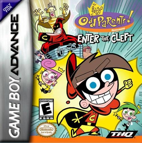 The Fairly OddParents! Enter the Cleft - Game Boy Advance