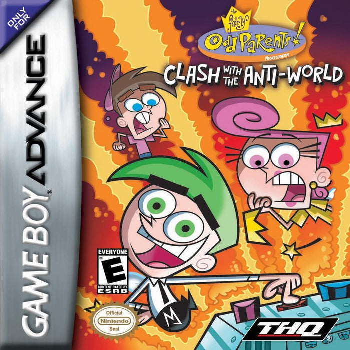The Fairly Oddparents! Clash with the Anti-World - Game Boy Advance