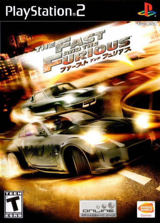 The Fast and the Furious - PlayStation 2