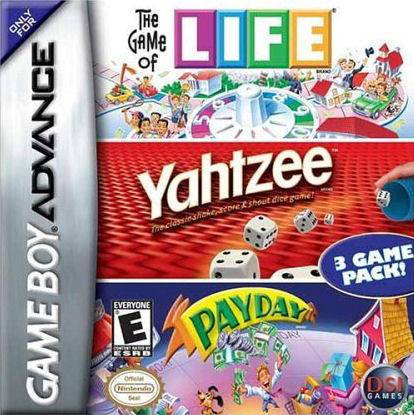The Game of Life  Yahtzee  Payday - Game Boy Advance