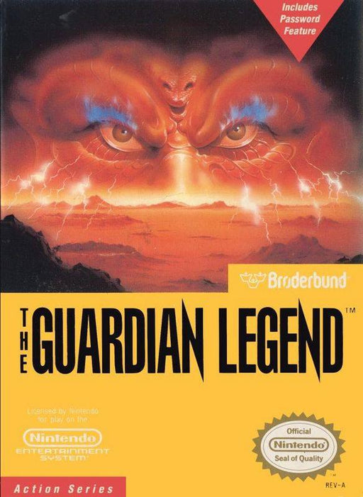 The Guardian Legend - Nintendo Entertainment System