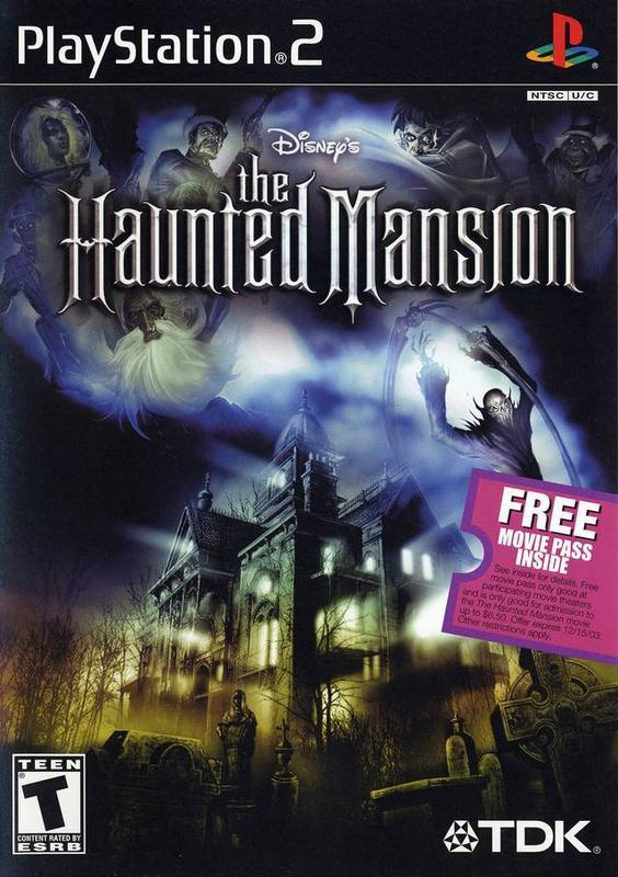 The Haunted Mansion - PlayStation 2