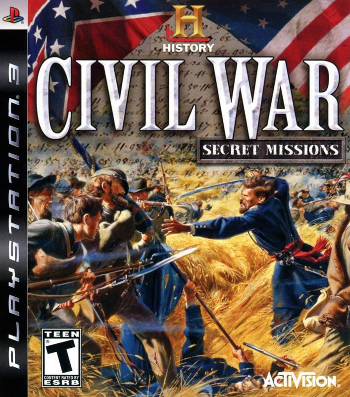 The History Channel Civil War - Secret Missions - PlayStation 3