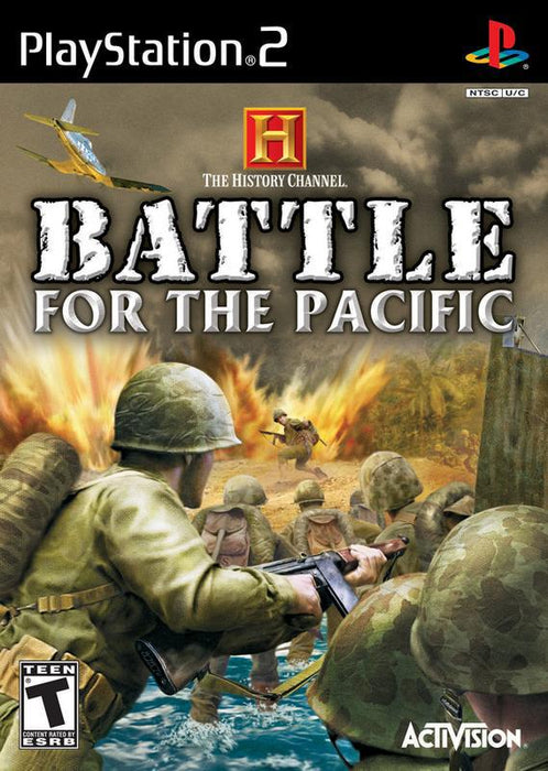 The History Channel Battle for the Pacific - PlayStation 2