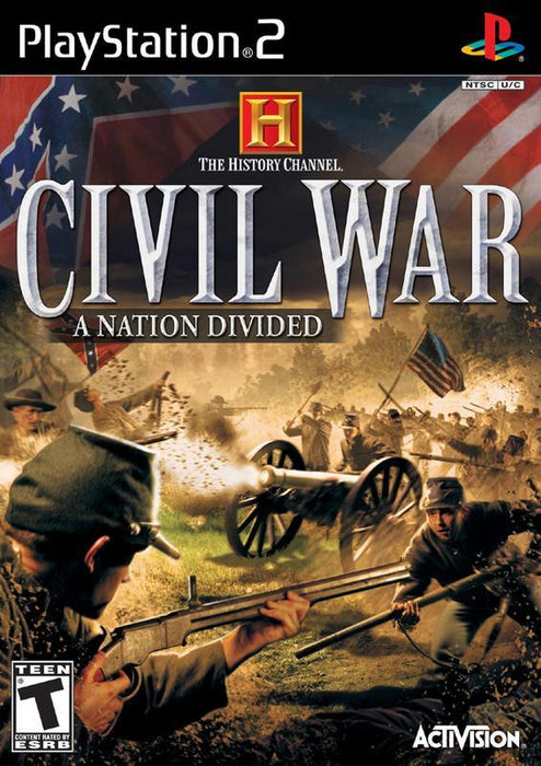 The History Channel A Nation Divided - PlayStation 2