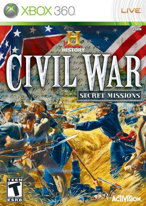 The History Channel Civil War - Secret Missions - Xbox 360