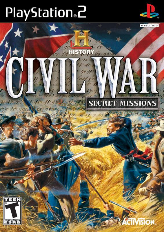 The History Channel Civil War - Secret Missions - PlayStation 2
