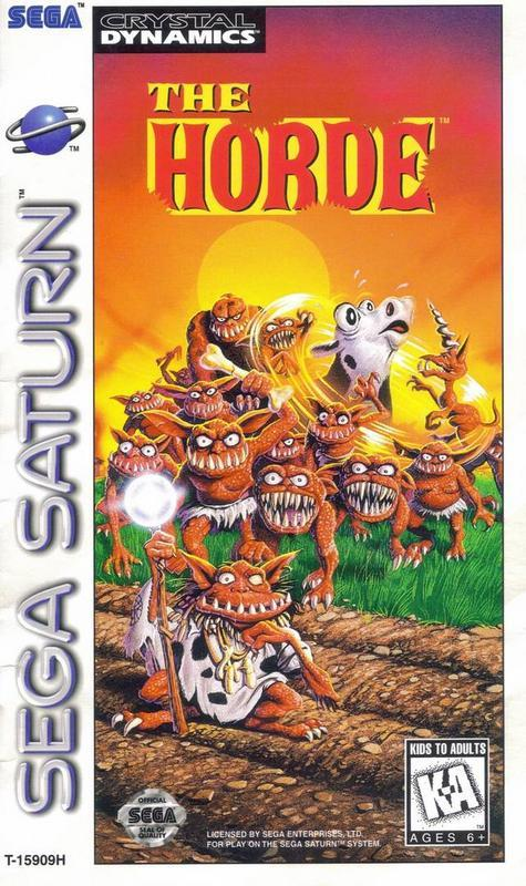 The Horde - Sega Saturn