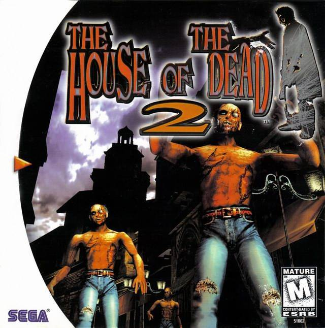 The House of the Dead 2 - Sega Dreamcast