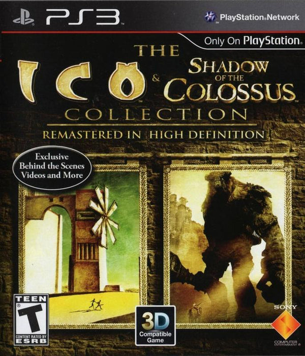 The ICO & Shadow of the Colossus Collection - PlayStation 3