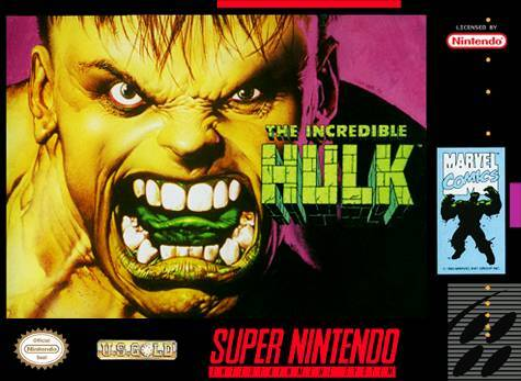 The Incredible Hulk - Super Nintendo Entertainment System
