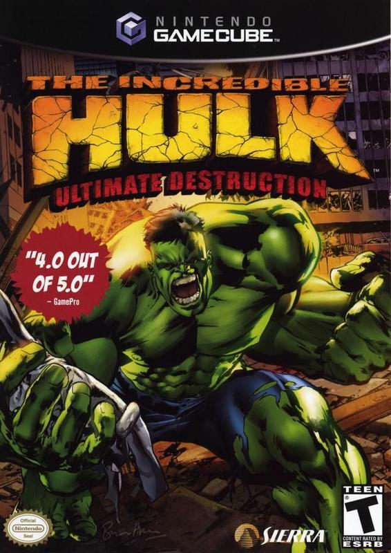 The Incredible Hulk Ultimate Destruction - Gamecube