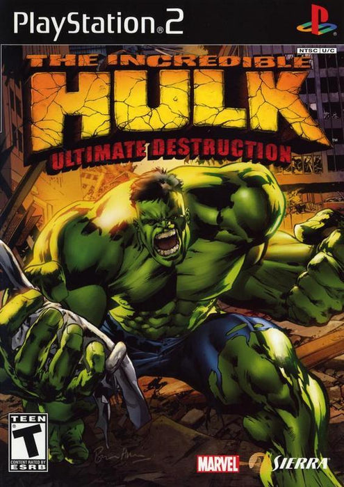 The Incredible Hulk Ultimate Destruction - PlayStation 2