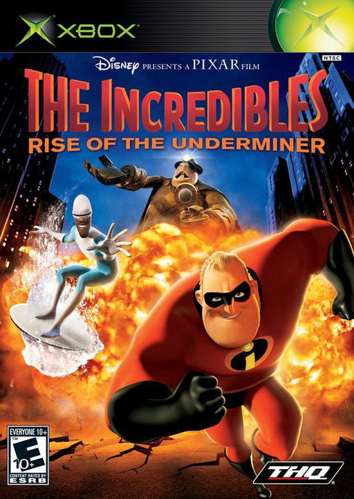The Incredibles Rise of the Underminer - Xbox