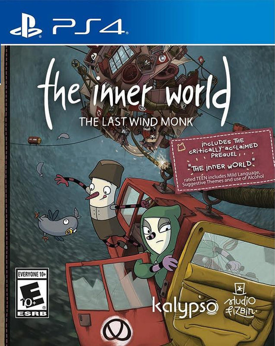 The Inner World The Last Wind Monk - PlayStation 4