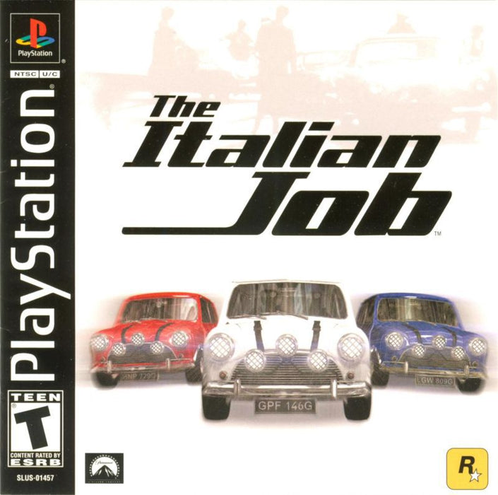 The Italian Job - PlayStation 1