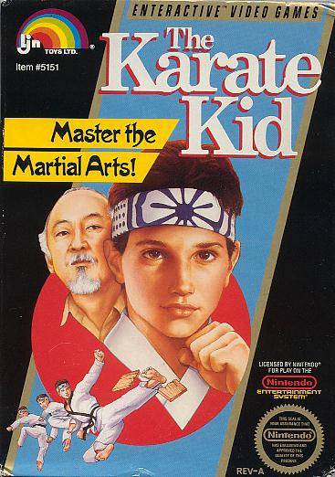 The Karate Kid - Nintendo Entertainment System