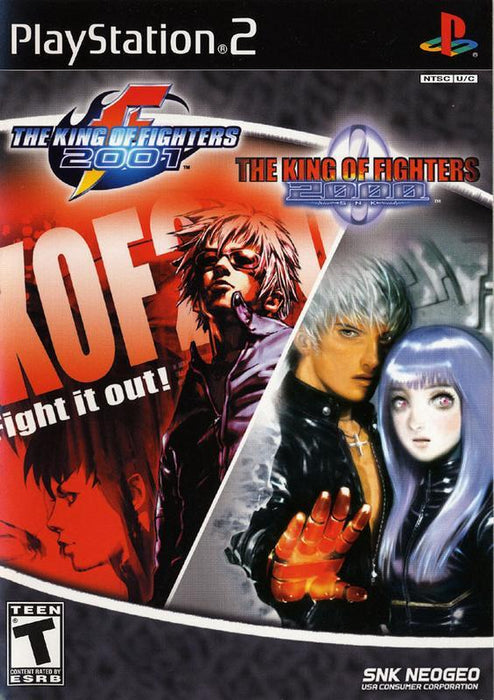 The King of Fighters 2000/2001 - PlayStation 2