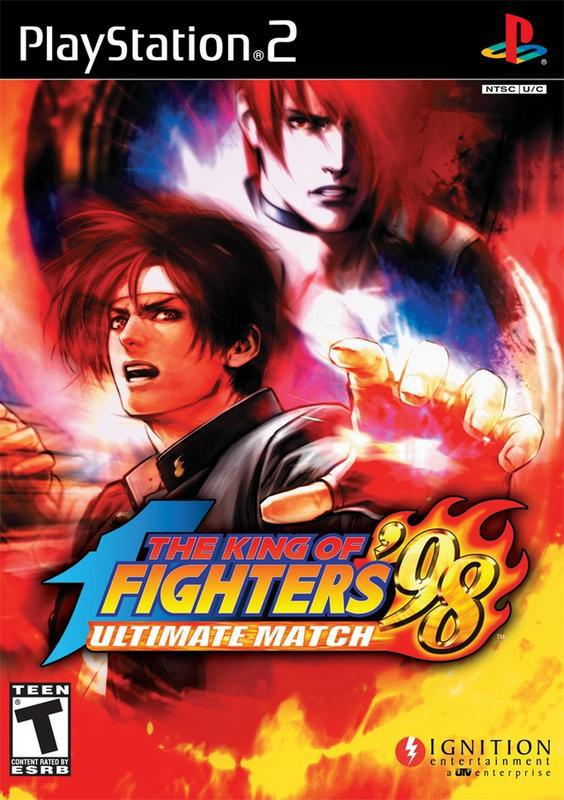 The King of Fighters 98 Ultimate Match - PlayStation 2