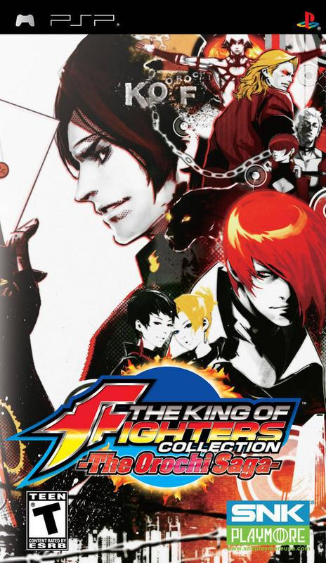 The King of Fighters Collection The Orochi Saga - PlayStation Portable