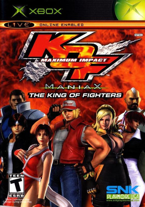 The King of Fighters Maximum Impact - Xbox