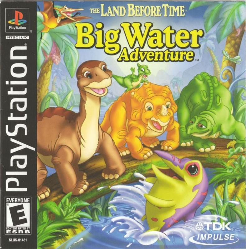 The Land Before Time Big Water Adventure - PlayStation 1