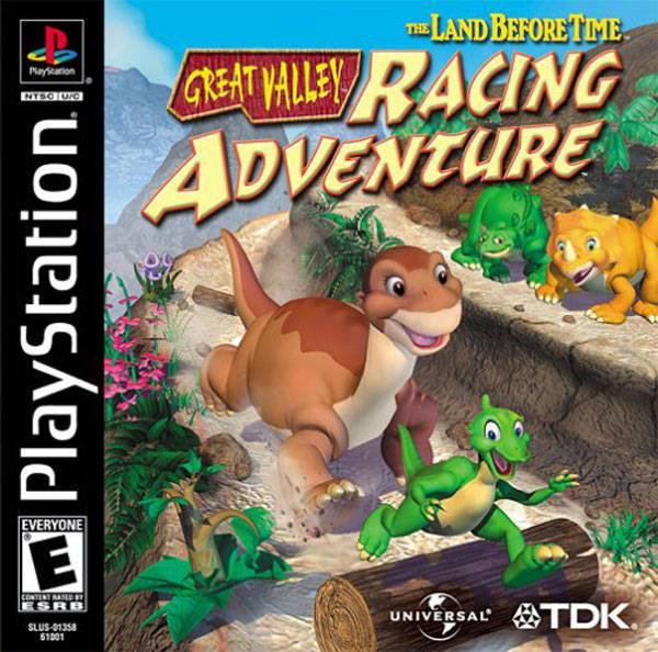 The Land Before Time Great Valley Racing Adventure - PlayStation 1