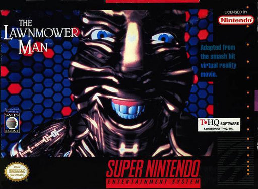 The Lawnmower Man - Super Nintendo Entertainment System