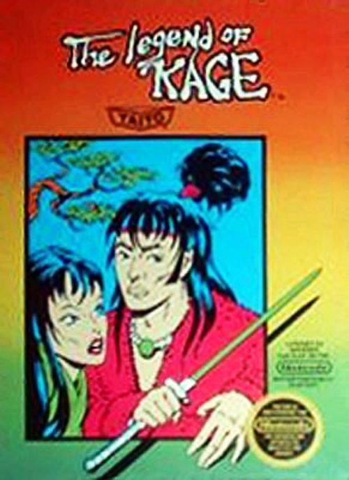 The Legend of Kage - Nintendo Entertainment System