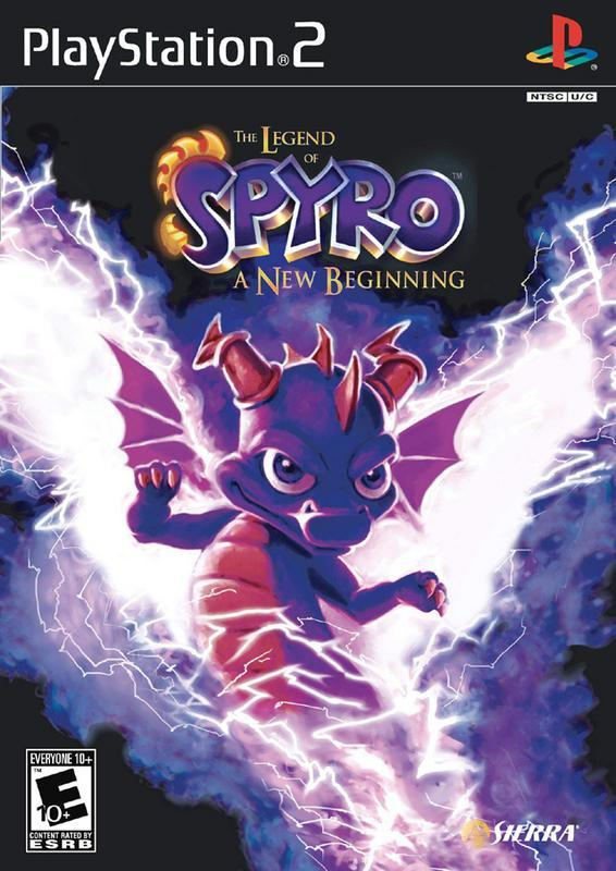The Legend of Spyro A New Beginning - PlayStation 2