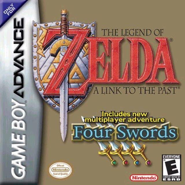 The Legend of Zelda A Link to the Past - Game Boy Advance