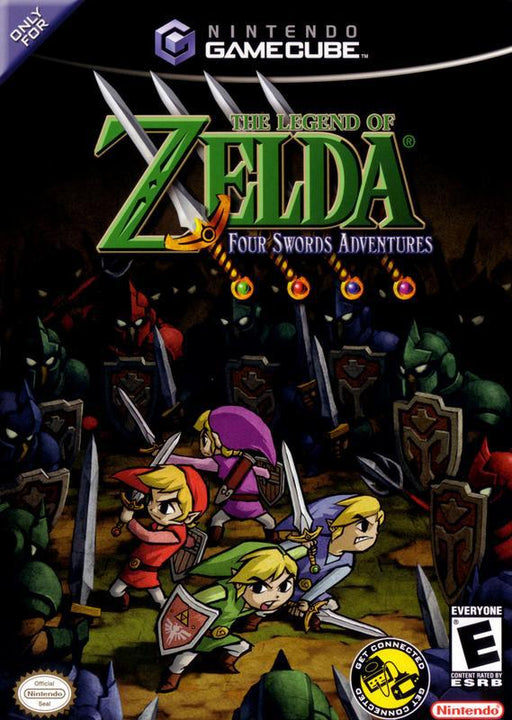 The Legend of Zelda Four Swords Adventures - Gamecube