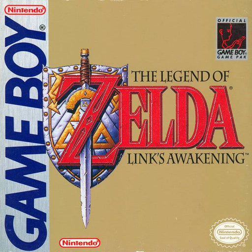 The Legend of Zelda Links Awakening - Game Boy