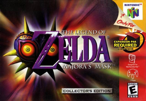 The Legend of Zelda Majoras Mask - Nintendo 64