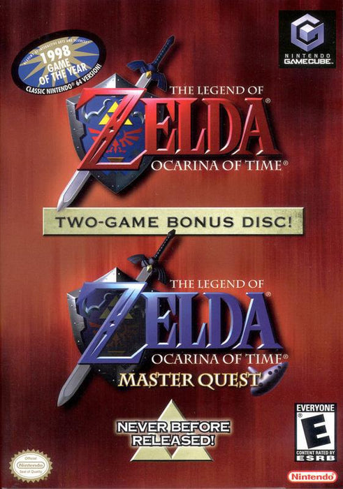 The Legend of Zelda Ocarina of Time Master Quest - Gamecube