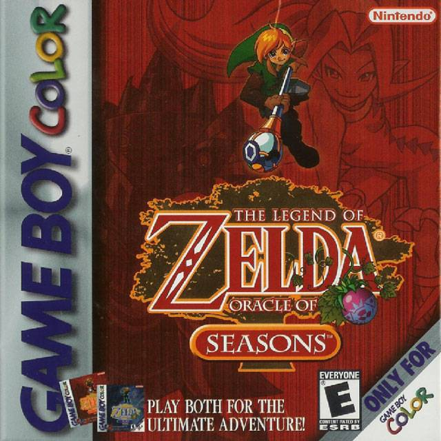 The Legend of Zelda Oracle of Seasons - Game Boy Color
