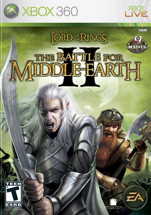 The Lord of the Rings The Battle for Middle-Earth II - Xbox 360