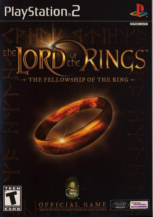 The Lord of the Rings The Fellowship of the Ring - PlayStation 2
