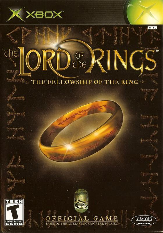 The Lord of the Rings The Fellowship of the Ring - Xbox
