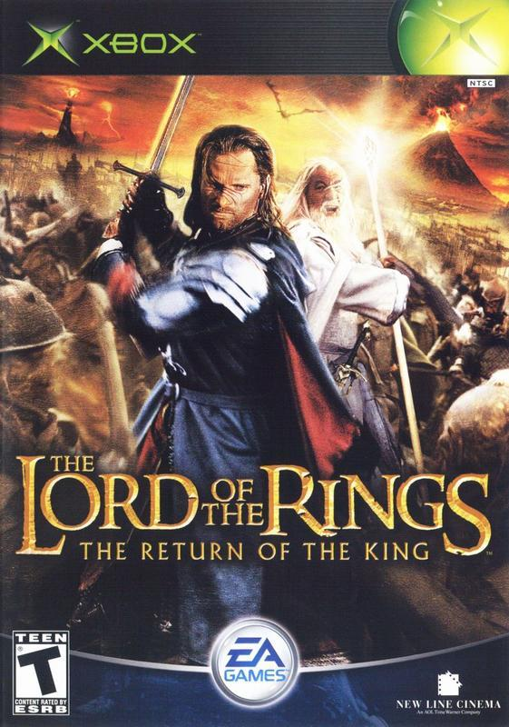 The Lord of the Rings The Return of the King - Xbox