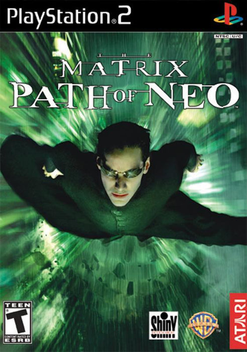 The Matrix Path of Neo - PlayStation 2