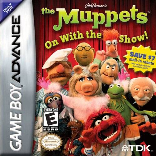 The Muppets On With The Show! - Game Boy Advance