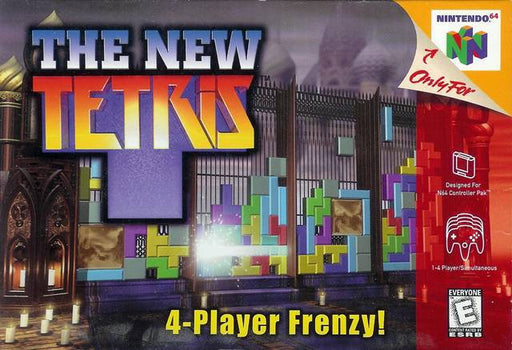 The New Tetris - Nintendo 64