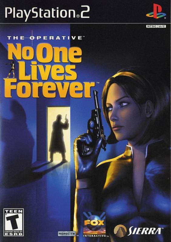 The Operative No One Lives Forever - PlayStation 2