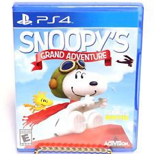 The Peanuts Movie Snoopys Grand Adventure - PlayStation 4