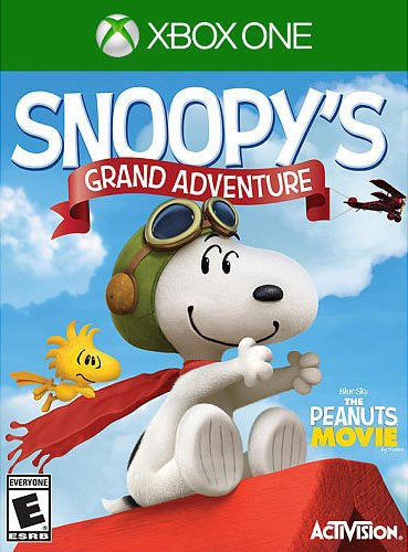 The Peanuts Movie Snoopys Grand Adventure - Xbox One