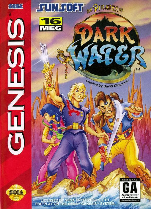 The Pirates of Dark Water - Sega Genesis