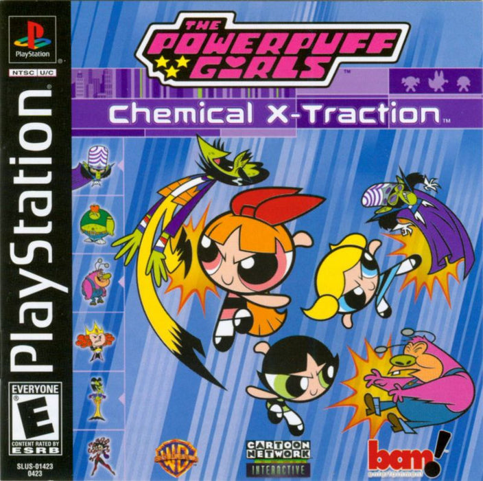 The Powerpuff Girls Chemical X-traction - PlayStation 1